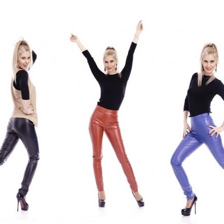 Pantaloni piele 2