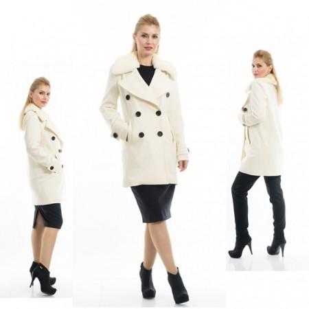 palton alb 2